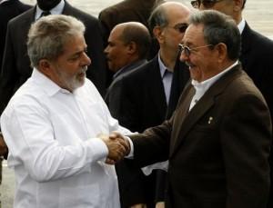 Lula da Silva y Raúl