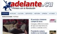 Portada del periódico Adelante (12/1/2012)