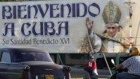 La Habana se prepara para recibir a Benedicto XVI, quien llegará el próximo lunes a Cuba. Foto Reuters
