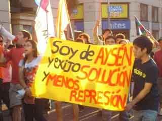 Denuncian represión policial en la Patagonia