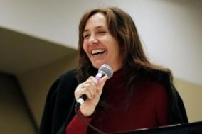 Mariela Castro durante su visita a Nueva York