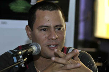 Israel Rojas, director de Buena Fe. Foto: Abel Ernesto/AIN.