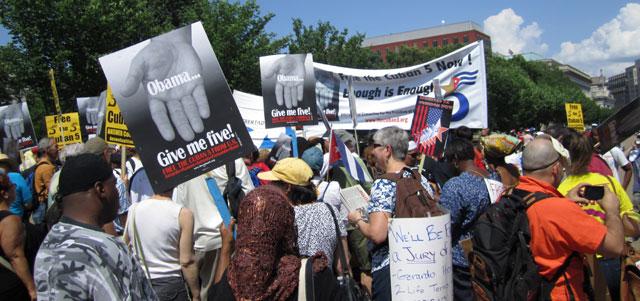 Jornada en Washington del 2012. Foto: Evelio Quevedo/Visión desde Cuba.
