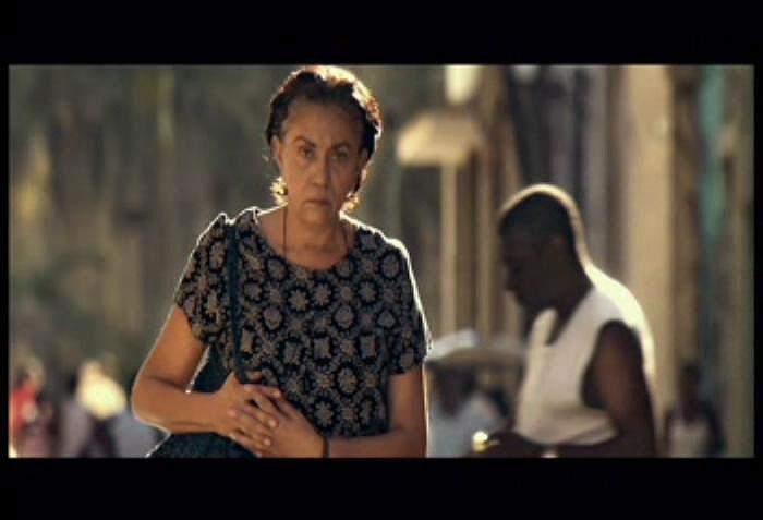 Fotograma del final del filme Conducta.