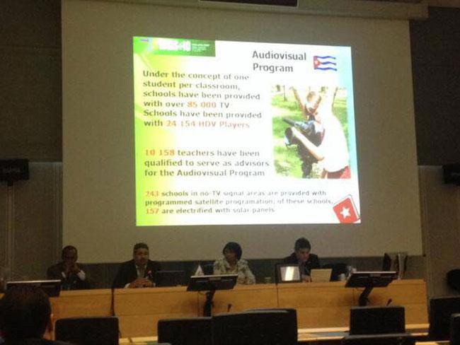 Cuba presenta resultados en el empleo de la informática en sectores vitales