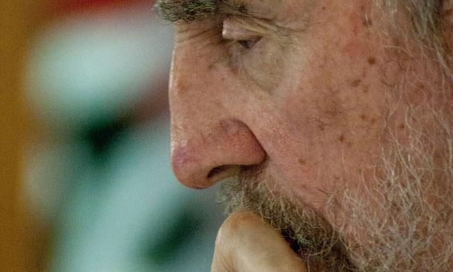 Fidel Castro. Foto: Roberto Chile.