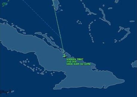 trayectoria.avioneta-jamaica