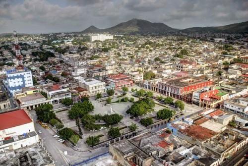 Vista aérea de la ciudad de Holguín. Foto: Juan Pablo/AIN.