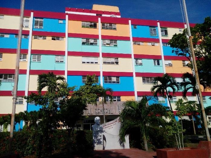 Vista del Hospital Lenin en Holguín. Foto tomada de internet.