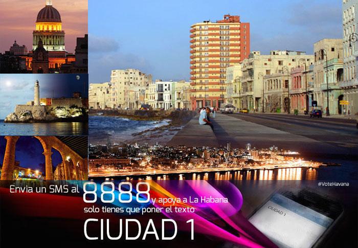 La Habana, capital de todos los cubanos. Composición: Visión desde Cuba.
