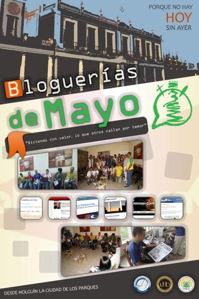 Cartel de las Bloguerías de Mayo 2015.