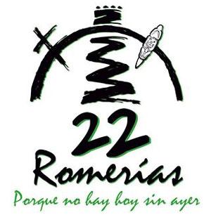 Logo oficial de la edición 22 de las Romerías.