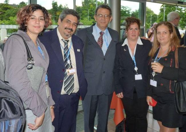 Iván Barreto es el segundo de izquierda a derecha. Foto tomada de su cuenta en Facebook.