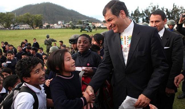 Foto: Miguel Romero/Presidencia de Ecuador