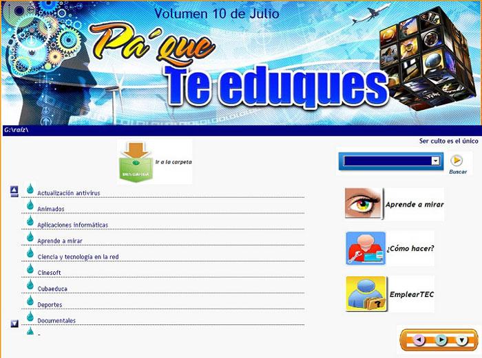 CINESOFT pondrá en todas las oficinas de correos de las cabeceras municipales  varios de los títulos que produce la empresa cubana de software educativo.
