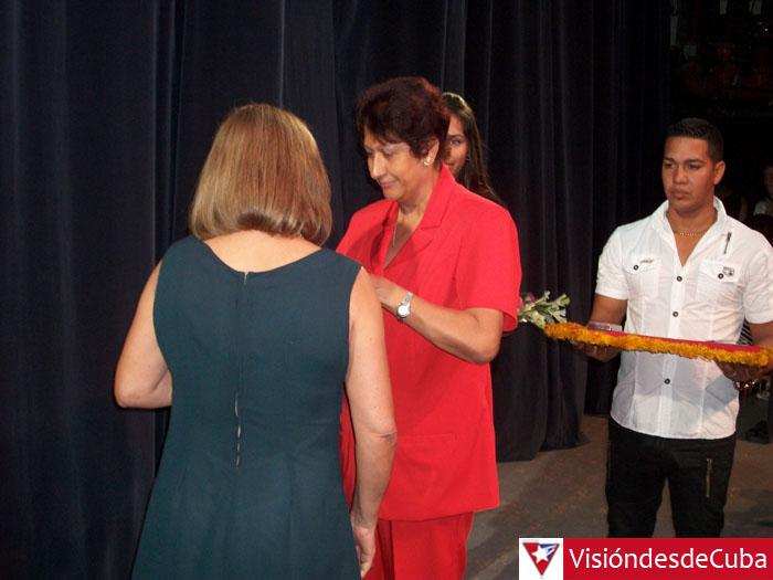 """Acto de Graduación de la Universidad de Ciencias Pedagógicas """"José de la Luz y Caballero"""". 9 de julio de 2015. Foto: Luis Ernesto."""