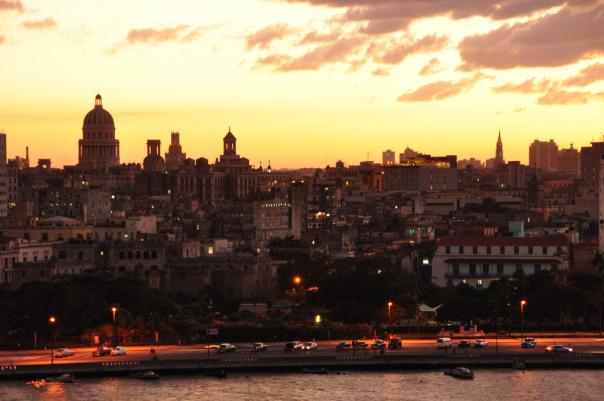 Havana sunset, Havana, Cuba