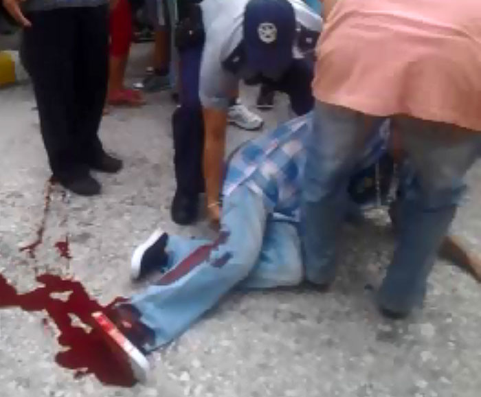 Foto: captura del video que ya circula por Holguín, aunque no he podido confirmar que esté publicado en internet.