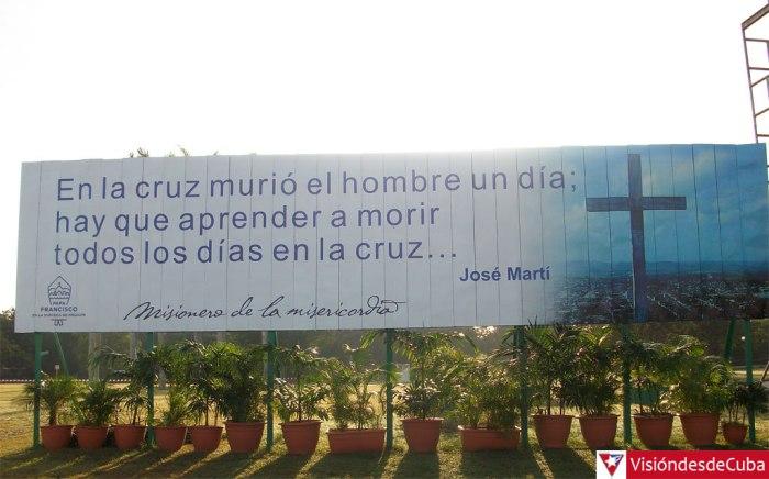 La Plaza de la Revolución de Holguín está lista para recibir al Papa Francisco. Foto: Luis Ernesto.
