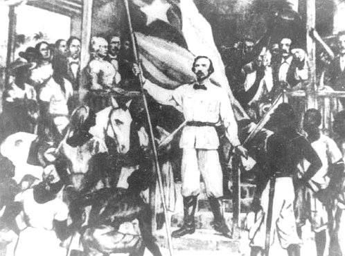 El 10 de octubre de 1868 los cubanos se alzaron en armas contra la metrópoli española.