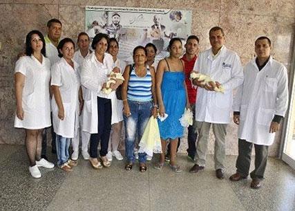 Primeros bebes nacidos por Fertilización In Vitro gracias al Centro de Reproducción Asistida del Hospital Lenin de Holguín.