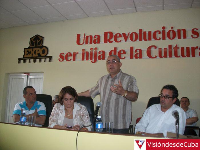 Asamblea Provincial de la Unión de Informáticos de Cuba. Desarrollada en el Recinto ferial Expo Holguín con la presencia de 133 delegados. VDC FOTO/Luis Ernesto Ruiz Martínez.
