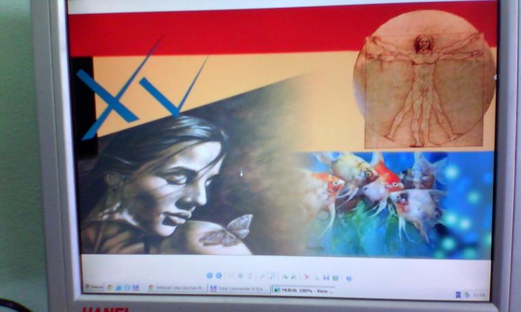 """Así debe quedar el proyecto, un regalo que estudiantes de cuarto año de la Academia Provincial de Artes Plásticas (El Alba) entregan a sus colegas de Estudios Socioculturales (ESC). Desarrollado en Sede """"Celia Sánchez Manduley"""", el 02 de febrero de 2016. UHO FOTO/Manuel Martínez y Juan Siam"""