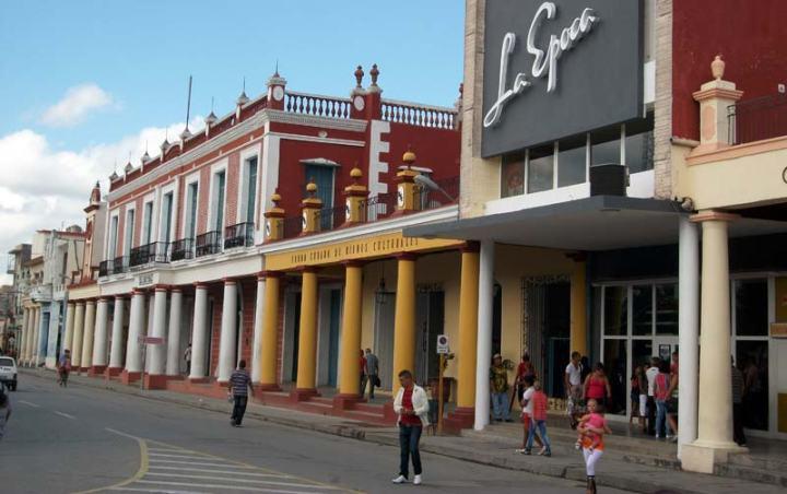 Vista de La Periquera, uno de los edificios que marcan la historia de la ciudad de Holguín.