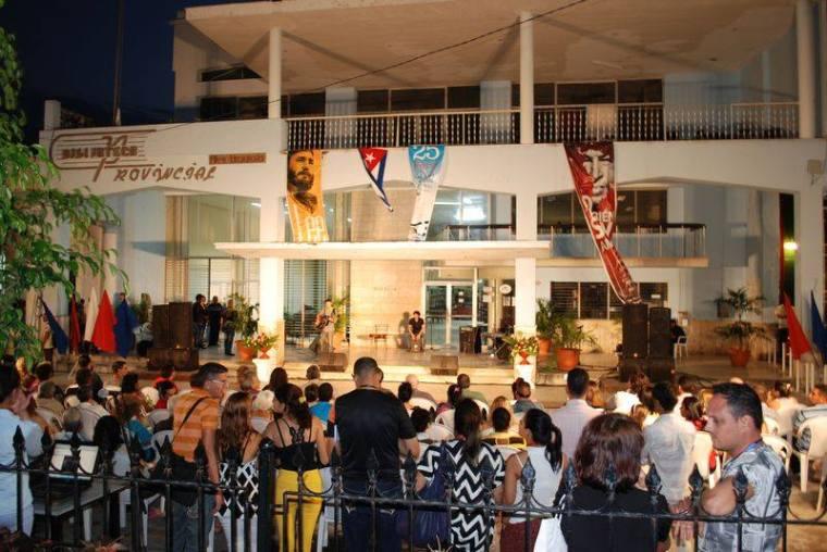 Apertura de la Feria del Libro 2016 en Holguín. Foto: Carlos Parra Zaldívar.