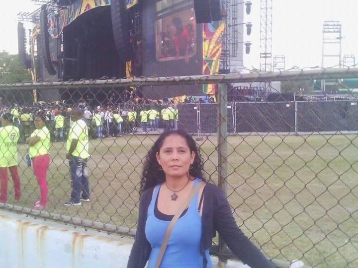 Daynet, antes del concierto.