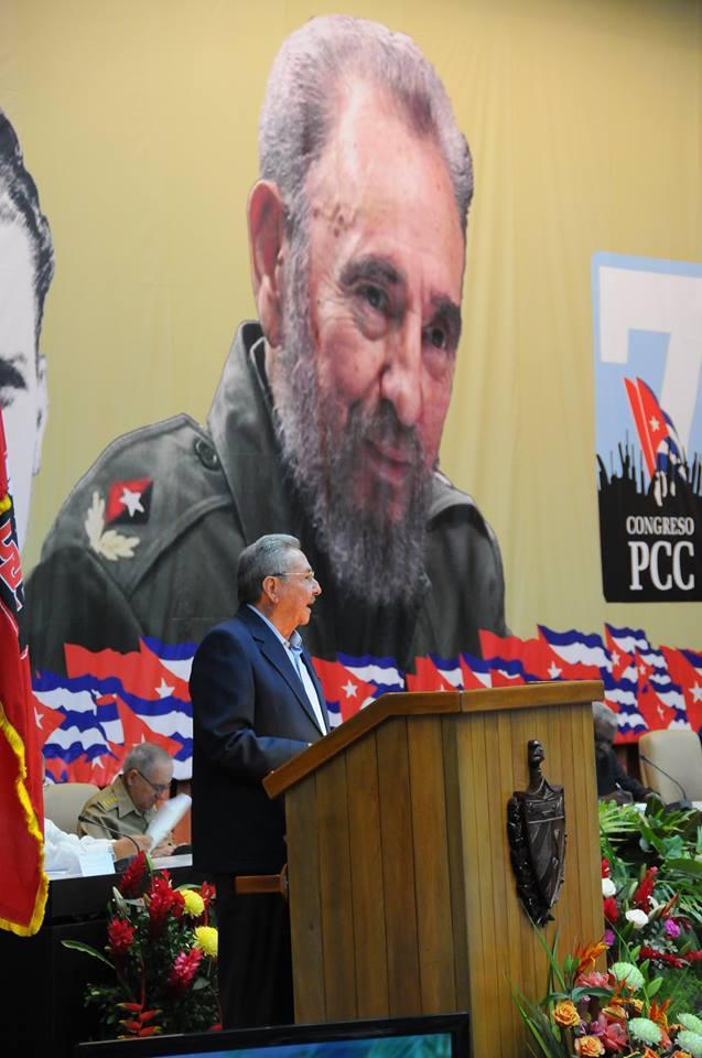 Primer día en el 7mo Congreso del Partido/ Foto tomada de Granma.cu