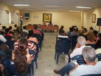 CUBA-VISITA DE ANDRES GOMEZ A LA UHO