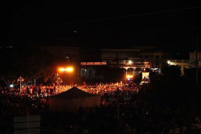 Concierto de Lidis Lamorú en Holguín. Foto: Carlos Parra Zaldívar.