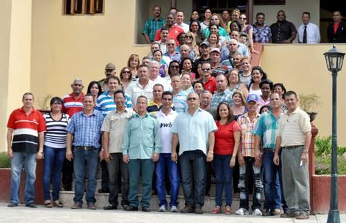 Delegación de Holguín al Séptimo Congreso del PCC. Foto: Elder Leyva.