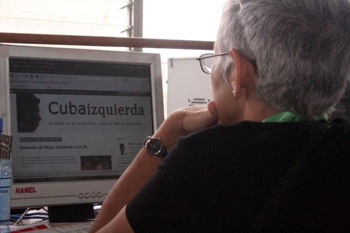 Rosa Cristina en las Bloguerías de Mayo de 2013.