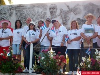Desfile por el Primero de Mayo del 2016 en Holguín. Miles de holgiuneros festejan el Día Internacional de los Trabajadores en la Plaza Calixto García. VDC FOTO/Luis Ernesto Ruiz Martínez.