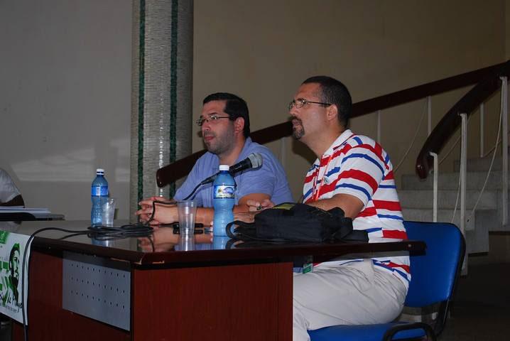 Con el amigo Mauricio Vergara, incondicional amigo de Cuba.