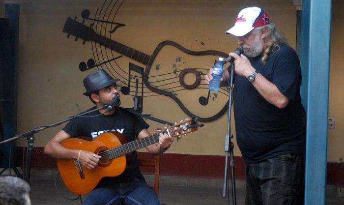 Rey Montalvo Vasallo se presentó en Holguín. Foto: Luis Mario Rodríguez.