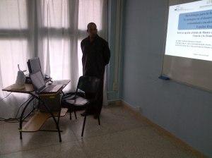 El Ing. Norberto Almenares Ginarte diserta sobre la metodología para la inclusión social de tecnologías en el Municipio Mella.