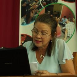 Conferencia Inaugural del 29 Fórum Nacional de Estudiantes de Ciencias Pedagógicas en la Universidad de Holguín. A cargo de la Dr.C. Maritza Salazar Salazar en la Sede José de la Luz y Caballero el 22 de junio. UHO FOTO/Torralbas.