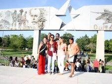 Visita a la Plaza de la Revolución.