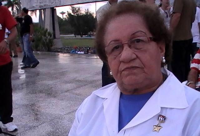 Doctora en Ciencias Médicas Pura Avilés Cruz. Foto: Arnaldo Vargas Castro.