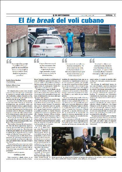 Así lucirá la página del periódico 5 de Septiembre de Cienfuegos en su edición de este viernes 8 de julio.