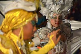 Desfile de carrozas y comparsas del Carnaval Holguín 2016, en la ciudad homónima, en Cuba, el 20 de agosto de 2016. ACN FOTO/ Juan Pablo CARRERAS/ rrcc