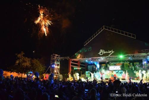 Apertura del Carnaval Holguín 2016, efectuada en el Centro Cultural Bariay. Foto: Heidi Calderón.