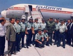 Fidel Castro Ruz en Santa Cruz de Tenerife Canarias España.