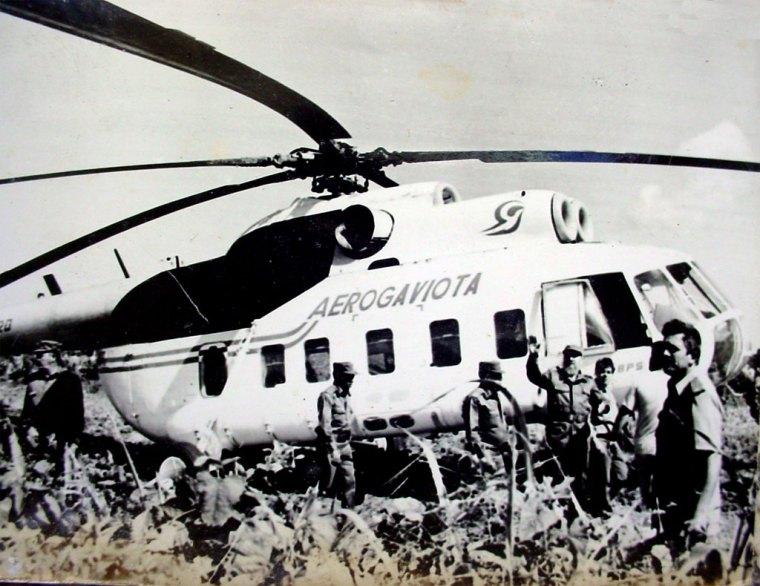 Sobre el mediodia del 7 de mayo de 1996 Fidel llega a Cantón, en el municipio Freye, para ver cortar un prototipo de combinada cubana.