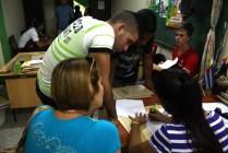 El proceso de matrícula para el nuevo curso escolar 2016-2017 se desarrolla en todas las sedes de la Universidad de Holguín desde el lunes 29 de agosto de 2016. UHO FOTO/Yensy Torres Oliva.