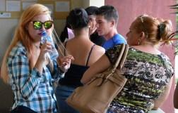 La matrícula para el nuevo curso escolar 2016-2017 se desarrolla en todas las sedes de la Universidad de Holguín desde el lunes 29 de agosto de 2016. UHO FOTO/Luis Ernesto Ruiz Martínez.