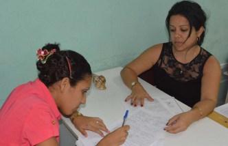 El proceso de matrícula para el nuevo curso escolar 2016-2017 se desarrolla en todas las sedes de la Universidad de Holguín desde el lunes 29 de agosto de 2016. UHO FOTO/Luis Ernesto Ruiz Martínez.